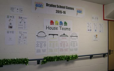 Dryden Games Notice Board