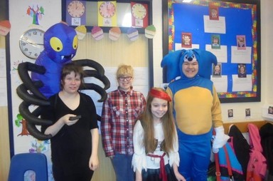 World Book Day at Dryden School