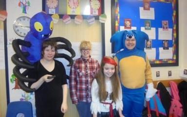 World Book Day at Dryden School