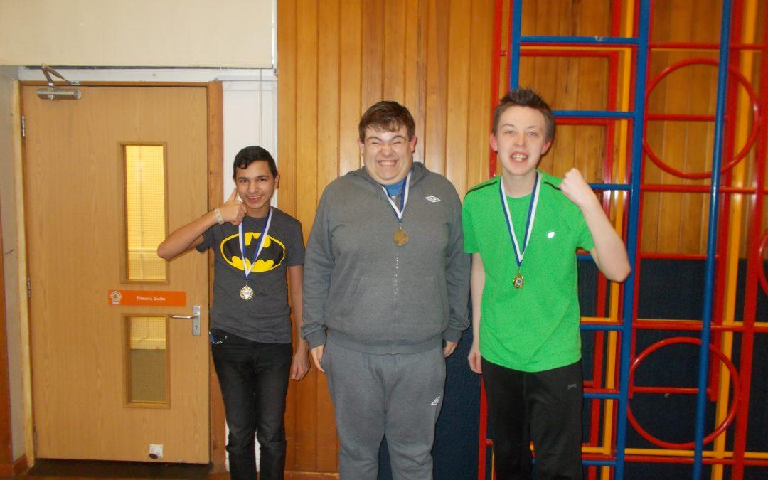 Boccia Medals Galore