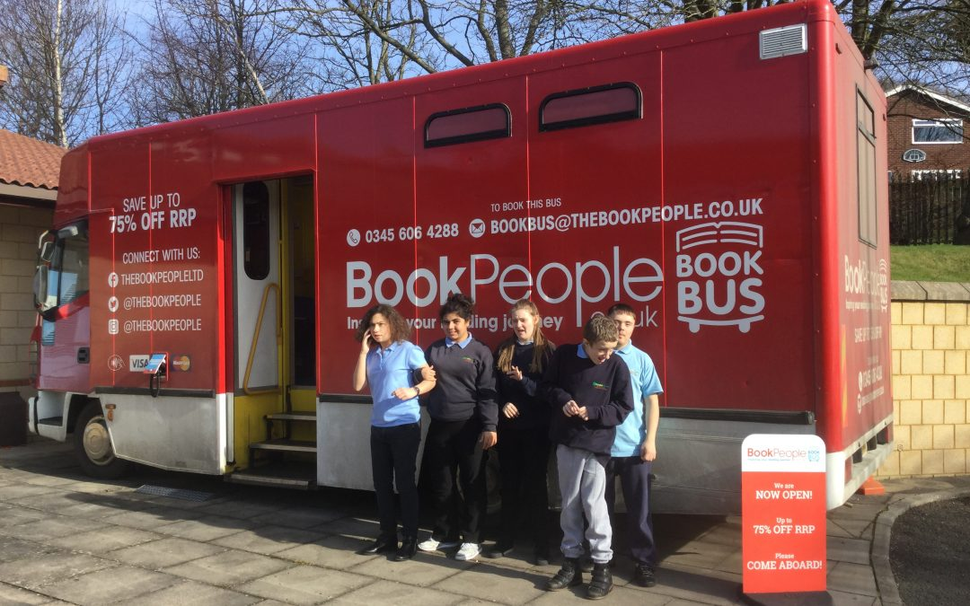 The Book Bus came to visit